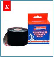 Кинезио тейп Kindmax черный купить в Киеве : Кинезио лента мирового производителя