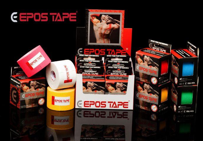 Кинезио тейп EPOS - цена 100 грн, производство Корея