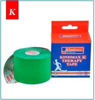 Кинезио тейп Kindmax зеленый купить в Киеве : Кинезио лента мирового производителя