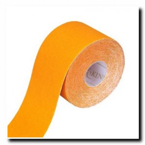 Купить кинезио тейп оранжевого цвета : Цена оранжевого кинезио тейпа