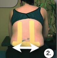 Кинезио тейпы для беременных — Часть 3: Снятие боли в спине и релаксация мышц с помощью кинезиотейпирования