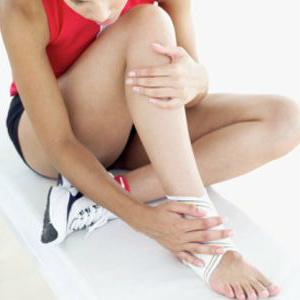 Лечение боли голеностопного сустава с помощью кинезио тейпа : Купить кинезио тейп EPOS