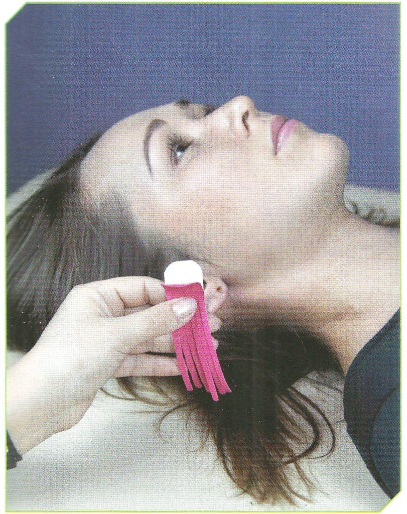 Фото инструкция дренажной техники кинезио тейпирования лица
